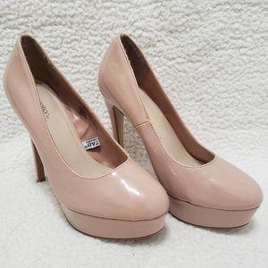Xhilaration | Pinky Nude Platform Heel